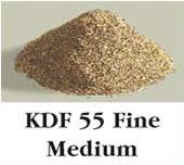 KDF55 Fine granulado, filtración adicional.